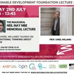 Inaugural Neil May MBE Memorial Lecture
